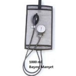 İnfizyon Manşeti ( Başınç Torbası ) 1000 ml