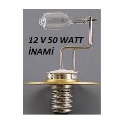 İnami Biyomikroskop Ampulü 12 volt 50 watt