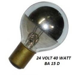 24 Volt 40 Watt BA15D