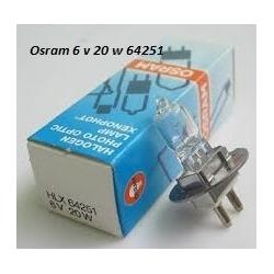 osram HLX 64251 6 v 20 w