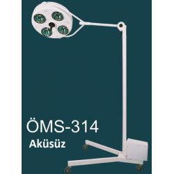 Seyyar 4 Reflektörlü Ameliyat Lambası