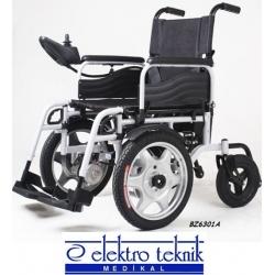 Akülü Tekerlekli Sandalye Ön Teker Büyük