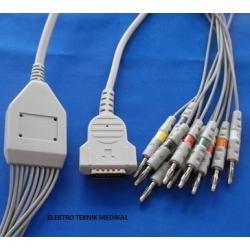 Ekg Kablosu GE Mac 1200,Mac 500