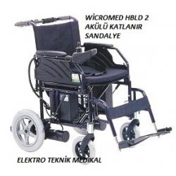 Wicromed HBLD2 A Akülü Katlanır Sandalye
